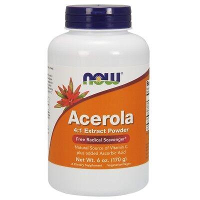 Now Foods Acerola Powder Antioxidant Protection - 6 oz