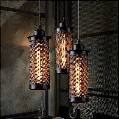 Kitchen Ceiling Lamp Bar Vintage Black Pendant Light Dining Room Hotel Lighting ()