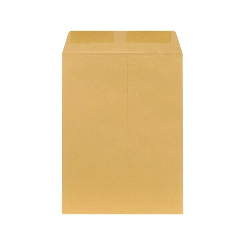 """Staples Gummed Kraft Catalog Envelopes 9"""" x 6"""" Brown 500/Box (381944/17027)"""