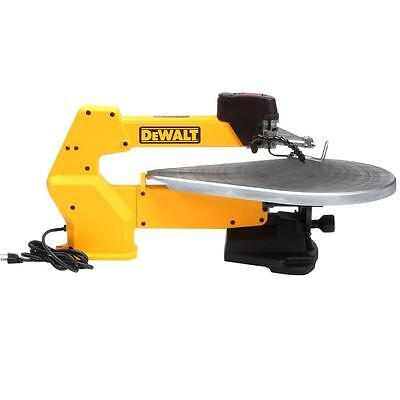 Dewalt Dw788 Scroll Saw - 20 inch Variable-Speed Scroll Saw Unique Arm Design Specialty Saw Yellow