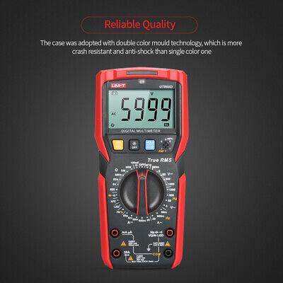 Uni-t Digital Multimeter 6000 Counts Voltage Current Resistance Capacitance X7b8