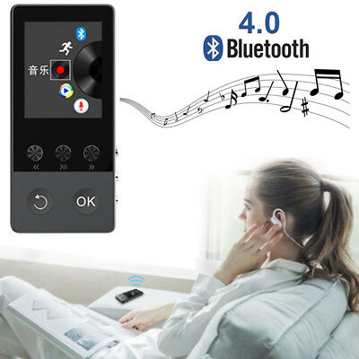 Latest Version MP3 MP4 Music Player Best Stereo Sound Portable W/USB (Best Music Players)