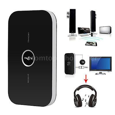2in1 Wireless Bluetooth Transmitter and Receiver A2DP Stereo Audio Music Adapter