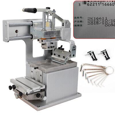 Manual Pad Printer Pad Printing Machine Label Logo Diy Transfer Single-color Usa