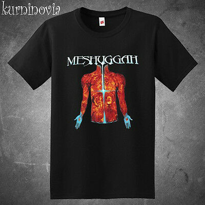 Meshuggah Branches Of Anatomy Metal Band Men's Black T-Shirt Size S to -