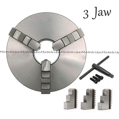 New 8 3 Jaw Lathe Scroll Chuck Self Centering Hardened For South Bend Tools