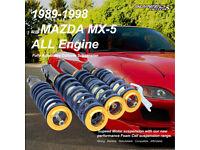 EIBACH MAZDA MX-5 MK1 1.6 1.8 1989-1998 PRO-KIT 25MM SUSPENSION LOWERING SPRINGS