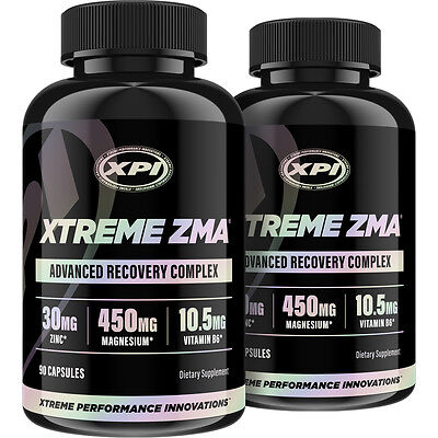 Xtreme Zma  90 Caps  2 Pack   Muscle Recovery   Post Workout Supplement