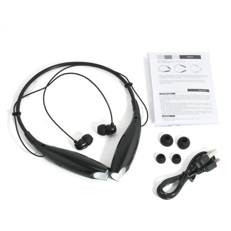 Bluetooth Wireless Stereo Headset Headphone Universal Sport Handfree Earphone