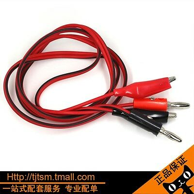 Sale Popular Double Multimeters Alligator Cable Cable Stitch Clip To Plug Test