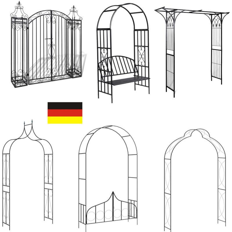Garden Archway Arch Arbor Trellis Yard Decor Wedding Patio Iron Structure Gate