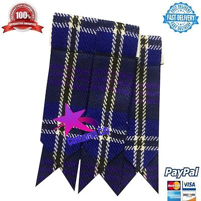 Highland Kilt Sock Flashes Heritage of Scotland/Scottish Kilt Hose Flashes/kilt