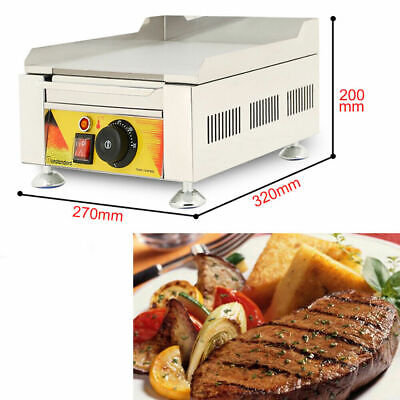 Commercial Electric Fried Flat Cook Griddle Grill Iron Machine Furnace 110v Food