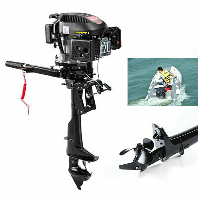 4stroke 6hp 3.75kw Outboard Motor Fishing Boat Engine Air Cooling Cdi Hangkai Ce
