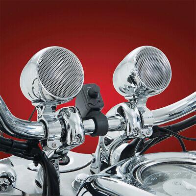 Big Bike Parts Bluetooth Sound System Chrome 13-252BT