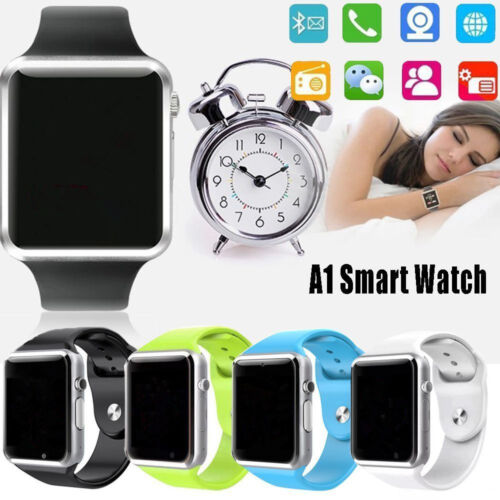 Chic A1 Smart Wrist Watch Bluetooth GSM Phone For Android Samsung iPhone Gift