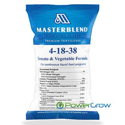 MASTERBLEND Official 4-18-38 Tomato & Vegetable Fertilizer BULK (1 - Tomato Kit
