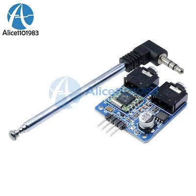 TEA5767 76-108MHZ FM Stereo Radio Module + Cable Antenna for Arduino