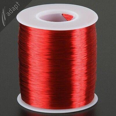 Magnet Wire Enameled Copper Red 32 Awg Gauge Hpn 155c 1 Lb 4900ft