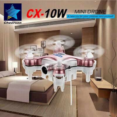 Cheerson CX-10W 4CH Wifi FPV RC Quadcopter Mini Drone RTF Gifts For Kids Y6C7
