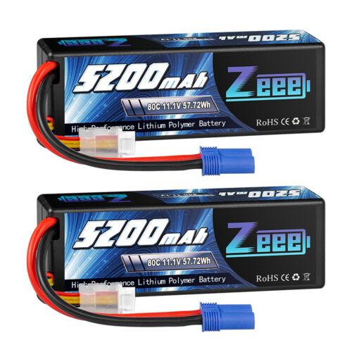 2x 11 1v 3s 5200mah lipo battery