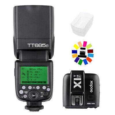 Godox TT685F TTL HSS Blitz Aufsteckblitz + X1T-F Transmitter Für Fujifilm Kamera