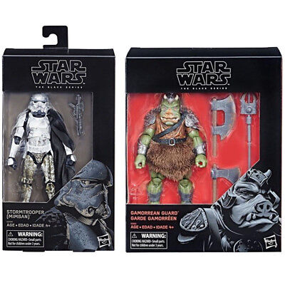 "Star Wars Hasbro Black Series 6"" Inch Gamorrean Guard & Mimban Stormtrooper NEW"