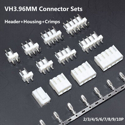 Vh3.96mm Pitch Connector Sets Headerhousingcrimps Terminal 2345678910p
