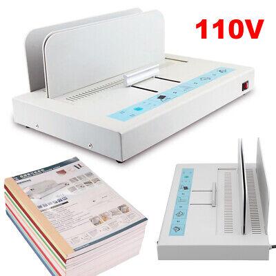 Hot Melt Binding Machine Desktop Office School A4 Paper Sheet Binder42x28.5x22cm