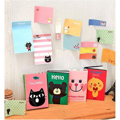 Hot Sale Lovely Animals Sticker Washi Bookmark Marker Memo Flags Sticky Notes