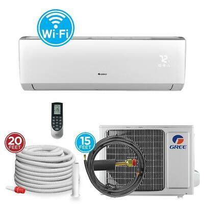 GREE 9,000 BTU 3/4 Ton Wi-Fi Programmable Ductless Mini Spli