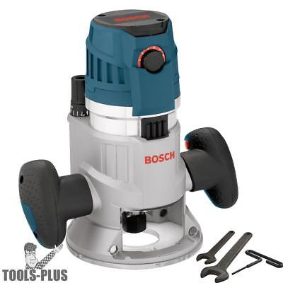 Bosch Mrf23evs 2.3hp Fixed Base Router 12 14 Collets Inc.