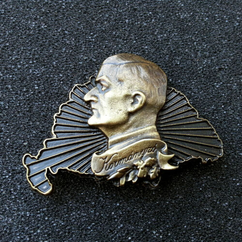 Greater-Hungary and Horthy-portrait Badge