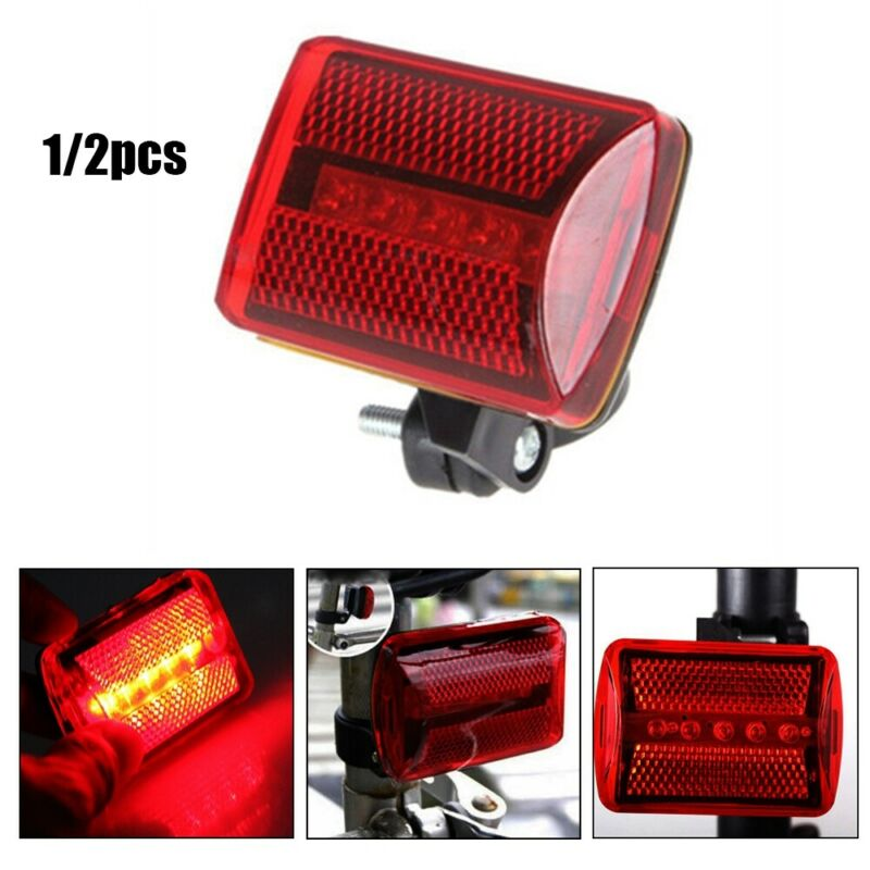 Led Bike Cycling Rear Lights Waterproof Warning Safety Flashing Tail Light Hot