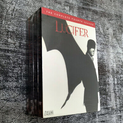 Lucifer: Complete Series, Seasons 1-4 DVD Fast shipping Ships Priority Mail