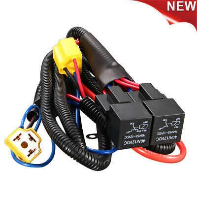Headlight Wiring Harness Relay Loom Upgrade Headlight H4 For VW Golf Corrado/Mk2