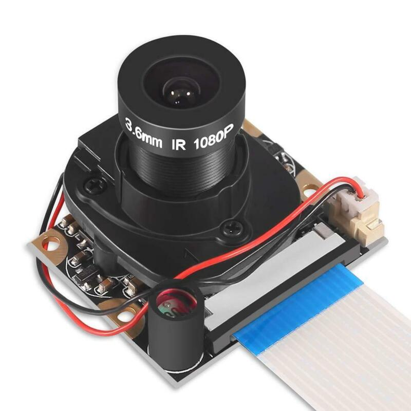 Raspberry Pi 4 B 3 B+ Camera Module For Webcam 5mp 1080p Ov5647 Hd Video Compati