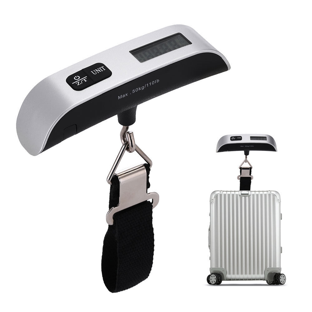 50kg/10g Portable Electronic LCD Digital Luggage Scale Travel Hanging Weight New