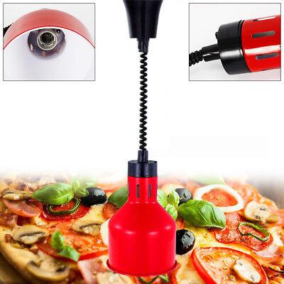 250w Adjustable Heat Lamp Food Warmer Light Stainless Steel Resturant Kitchen