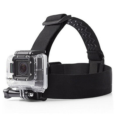Elastic Mount Belt Head Strap for GoPro HERO 6/5 /5 Session /4 Session 3 /Xiaoyi