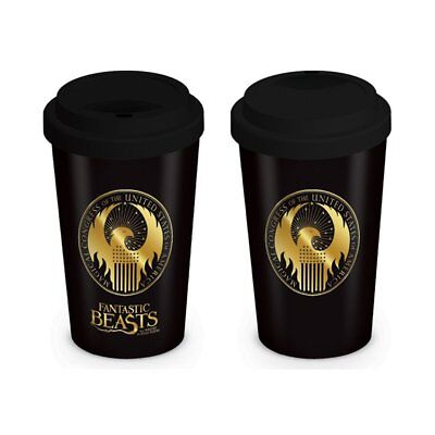 Fantastic Beasts MACUSA Logo Travel Mug New Boxed
