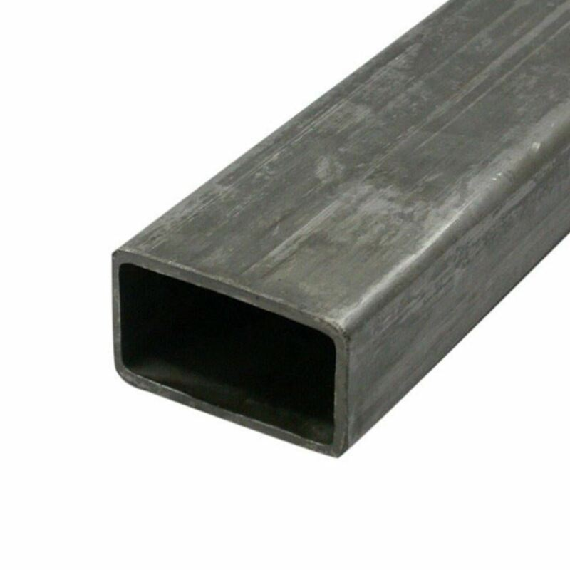 "Steel Mechanical Rectangle Tube, 1.5"" x 3"" x 0.083 (14 ga.) x 72 inches"