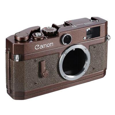 CANON P RF FILM CAMERA BODY REPAINTED REPAINTING GLOSSY PEARL BROWN CLA'D / EX++