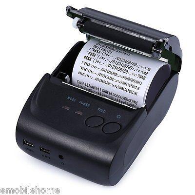 ZJ - 5802LD Mini Bluetooth 2.0 58mm Thermal Receipt Printer EU PLUG