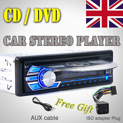 Car Radio Stereo Head Unit CD DVD Player MP3 USB SD AUX-IN FM In-Dash UK Stock