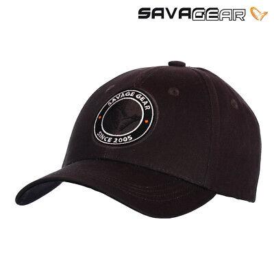 SAVAGE GEAR SIMPLY SAVAGE BADGE CAP CARP FISHING BASEBALL HAT (THE COLLECTION)