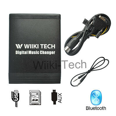 Bluetooth USB SD HC MP3 CD Changer AUX Adapter For Volvo SC700 SC801 SC901 CR905