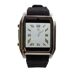 1.54 '' New TW206 Bluetooth Camera Audio Video Cell Phone Wrist Watch 3G Black