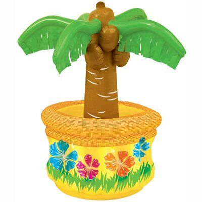 alm Tree Drinks Cooler Beer Chiller Hawaiian Luau Party BBQ (Blow-up Palme)