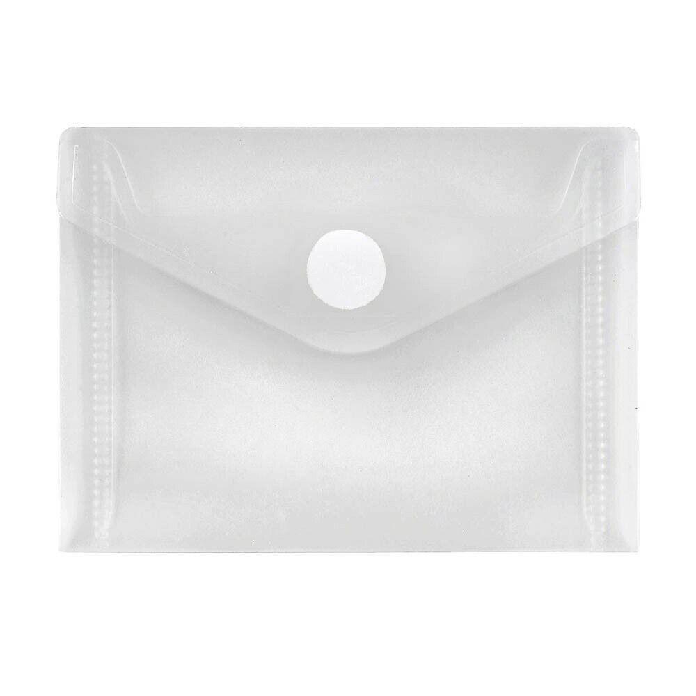 10 FolderSys Dokumentenmappen transparent Sichthüllen Umlauftaschen A7